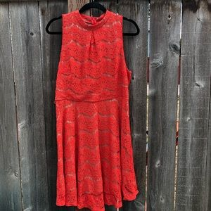 Love Fire Lace Dress